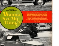 Old Magazine Articals and Road Tests  on Things