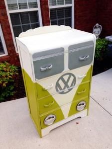 vw bus cabinet