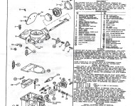 Rebuilding a 74 Thing Carburetor