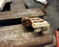 Replacing The Thing Door Pins