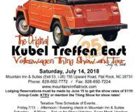 Kubel Treffen East 2018