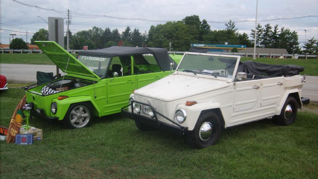 A Volkswagen Show In Louisville Ky Kubel Treffen - Car show louisville ky